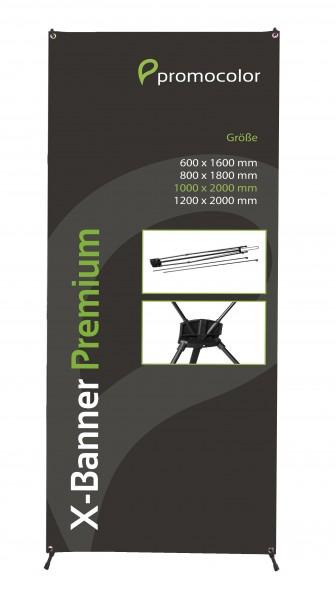X-Banner Premium 100x200cm
