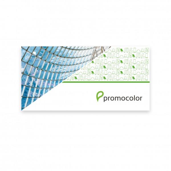 PVC Banner inkl. Zuschnitt 400x150cm