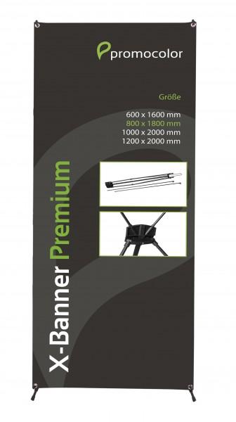 X-Banner Premium 80x180cm