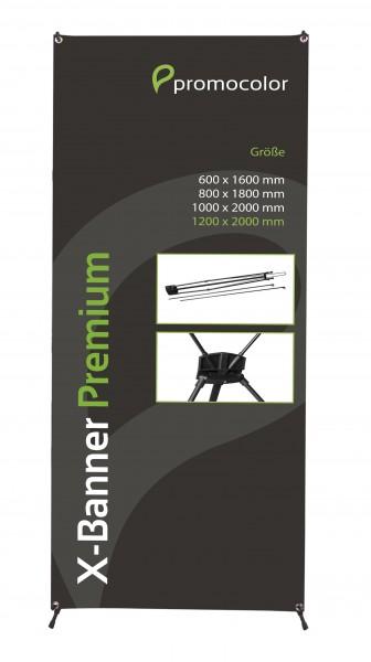 X-Banner Premium 120x200cm