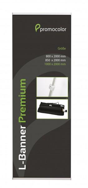 L-Banner Premium 100x200cm