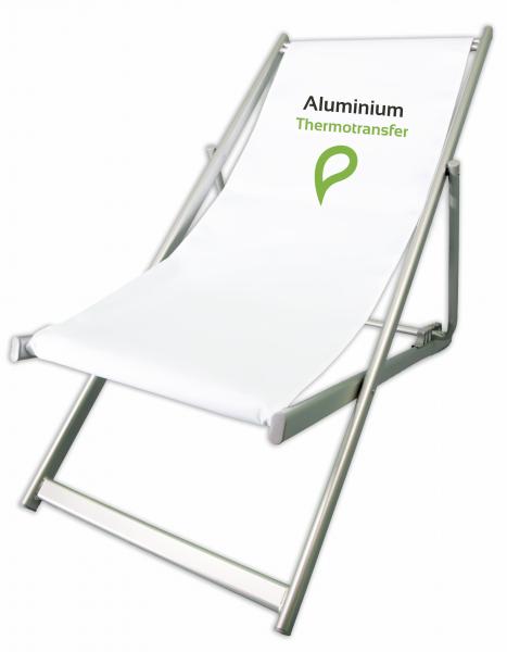 Aluminium silber Thermotransferdruck