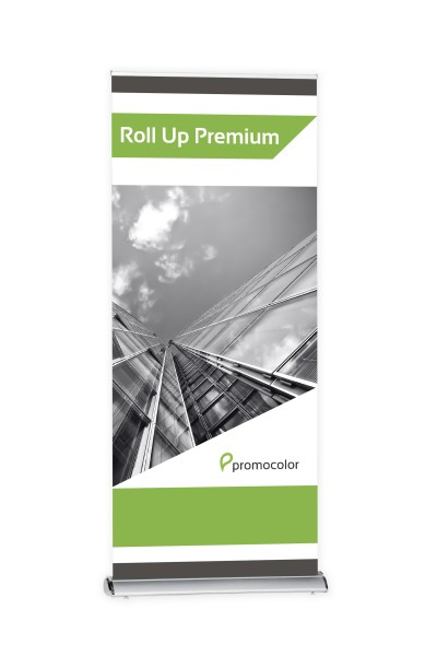 Roll Up Premium silber 100 cm