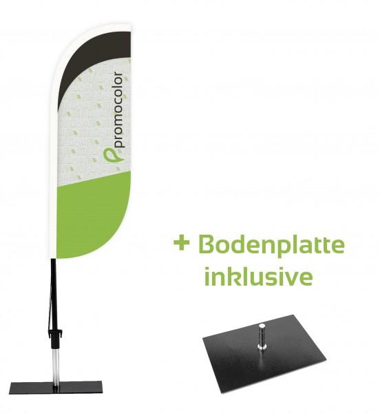 Beachflag Konvex Budget