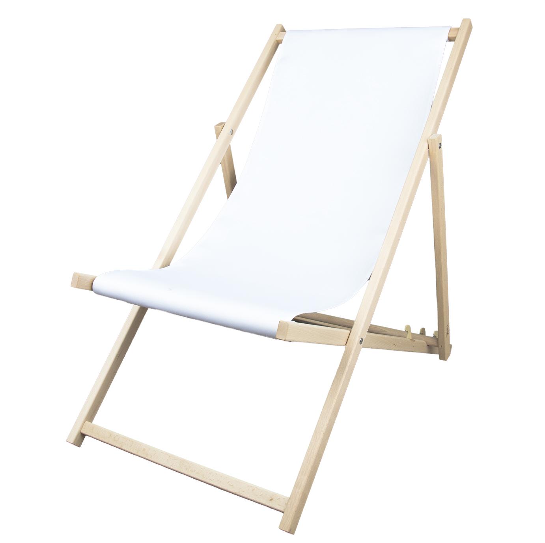 Klappbarer Liegestuhl aus Holz günstig bedrucken Promocolor de