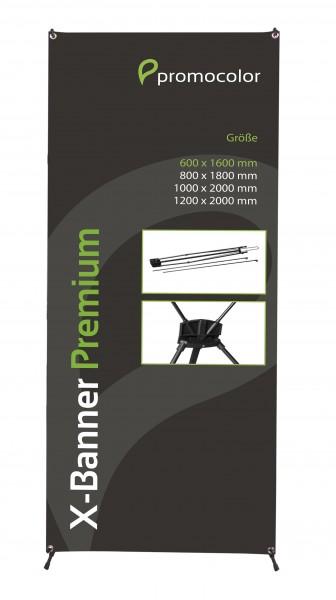 X-Banner Premium 60x160cm