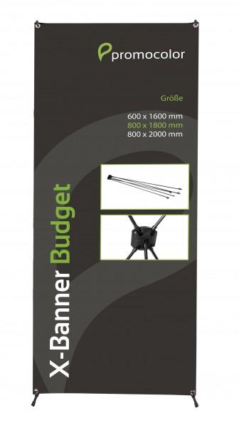 X-Banner Budget 80x180cm